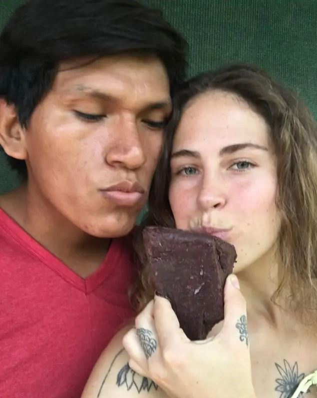 british naked yoga teacher starts new life in jungle with 19-year-old lover