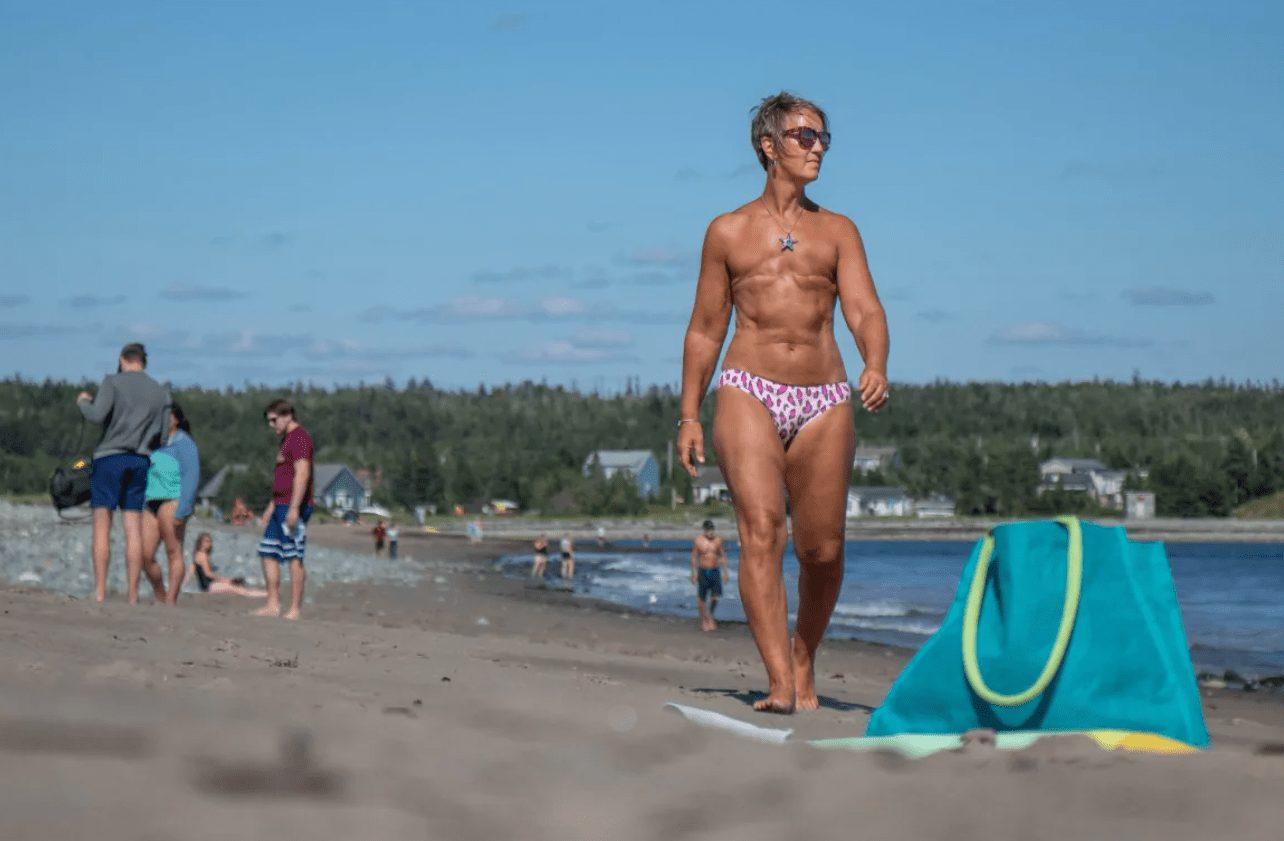 topless and proud of it: dartmouth woman embracing life after a double mastectomy