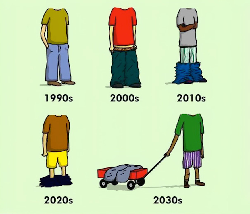 20 funny, but realistic illustrations that prove the world has changed for the worse