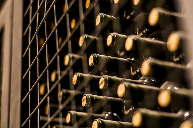 guy transforms stairwell into wine cellar that can hold 156 bottles