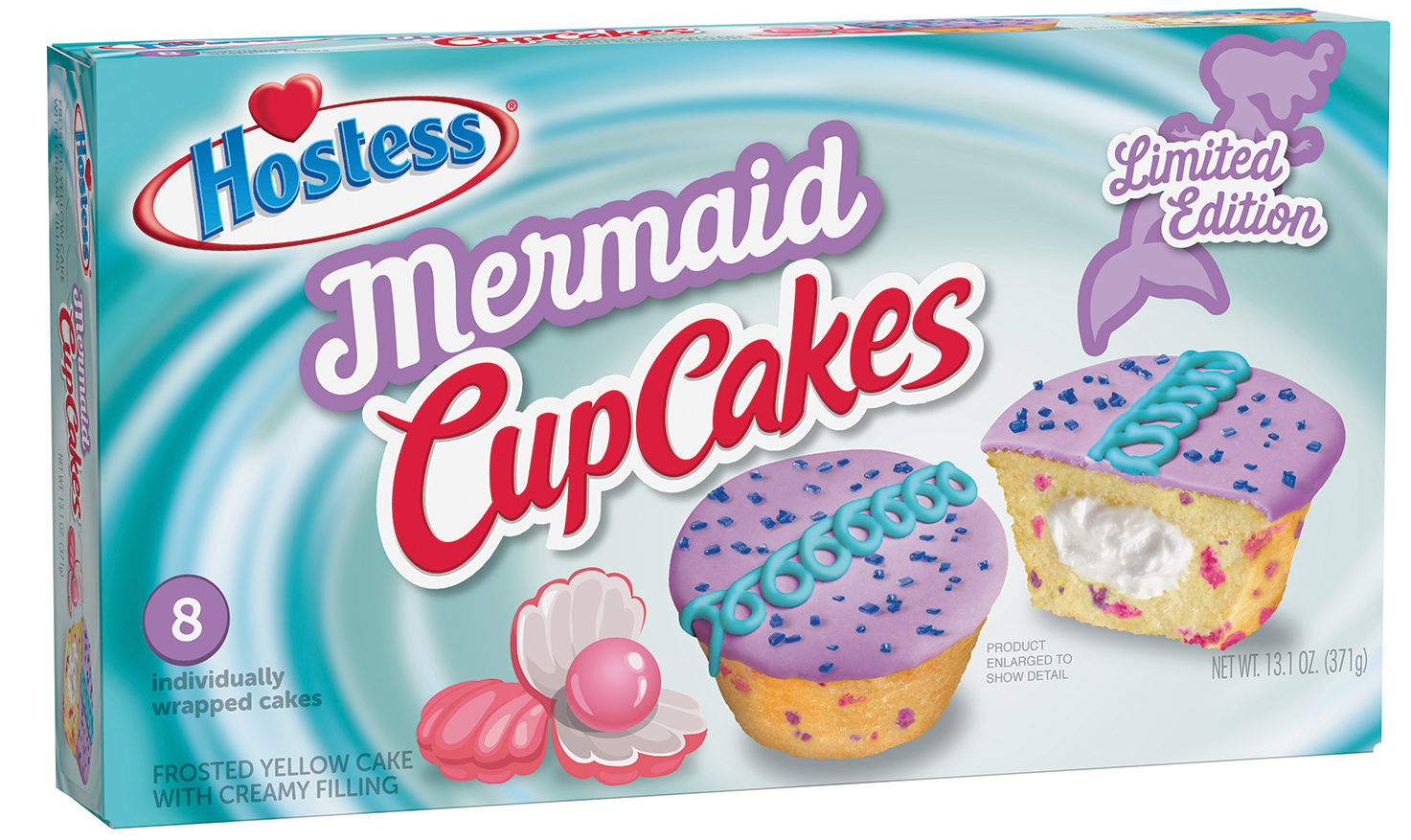 hostess is selling mint chocolate-flavored cupcakes limited-edition, just in time for st. patrick's day