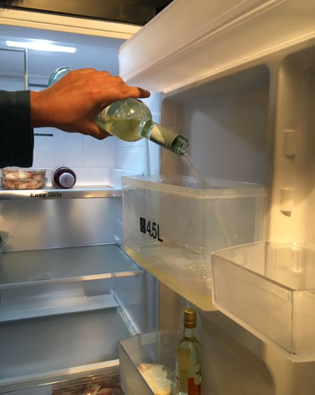this genius woman hacks fridge to dispense wine instead of water and becomes internet role model