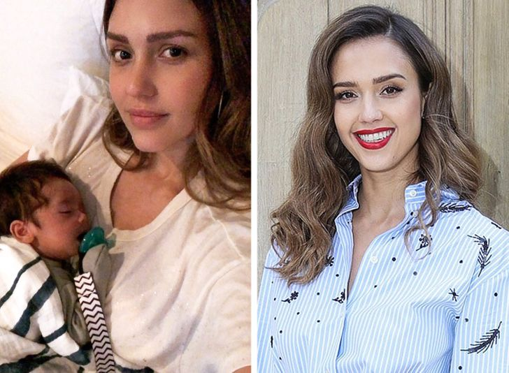 unrecognizable photos of celebrities without makeup