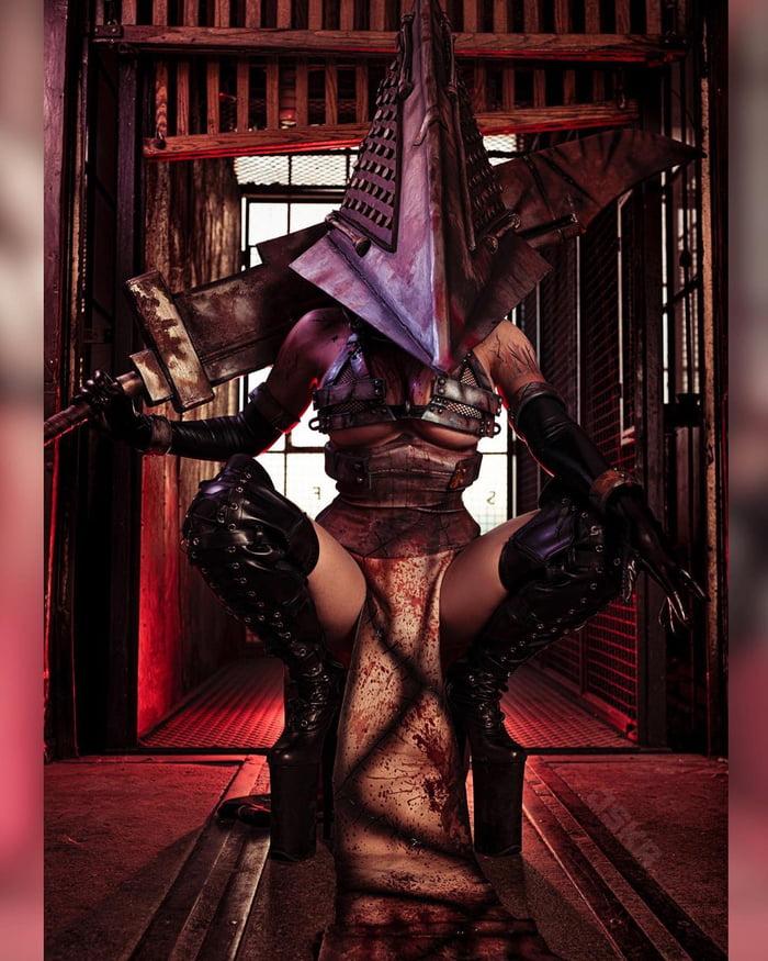 cosplayer jessica nigri turns demon slayer's inosuke into a busty character