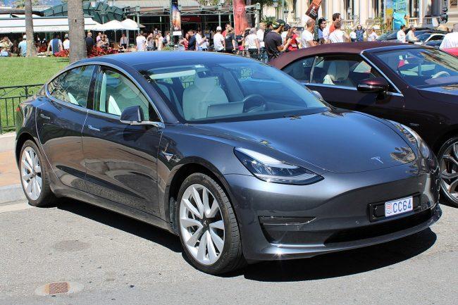 arnold schwarzenegger gets greta thunberg a tesla model 3 electric car