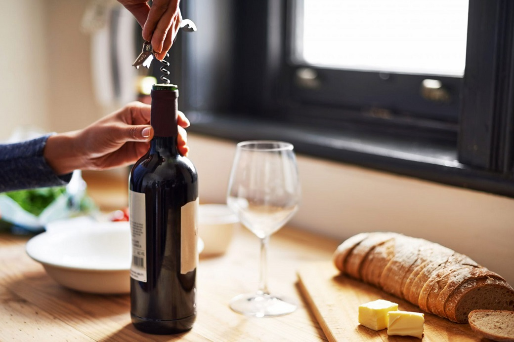 how to keep an open bottle of wine fresh, according to a sommelier