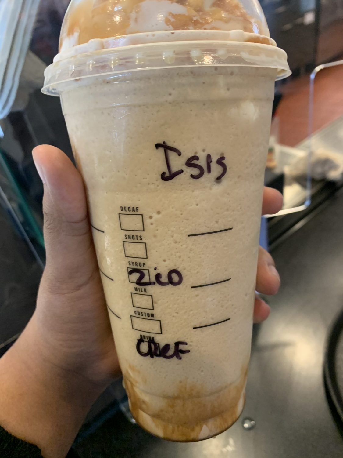 minnesota starbucks barista allegedly wrote isis on muslim woman's drink
