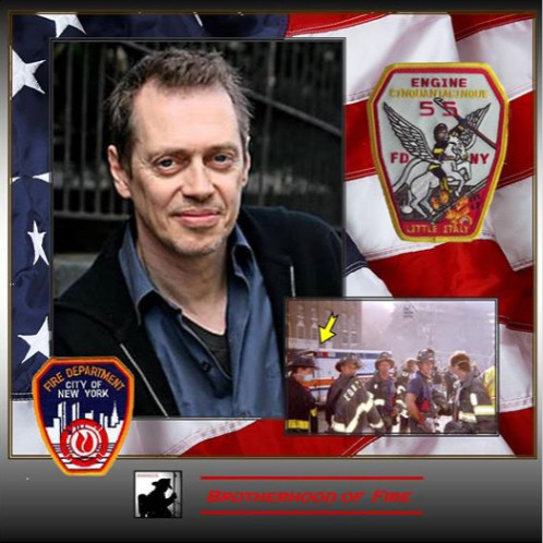 on 9/11, steve buscemi returned to job as firefighter to help find victims