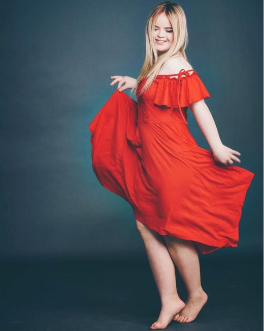 popular cosmetic brand chooses model with down syndrome as ambassador