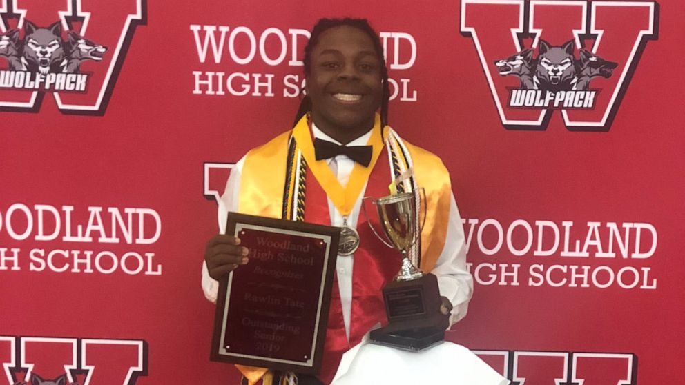 teen graduates with 4.7 gpa, making history as first african-american male valedictorian
