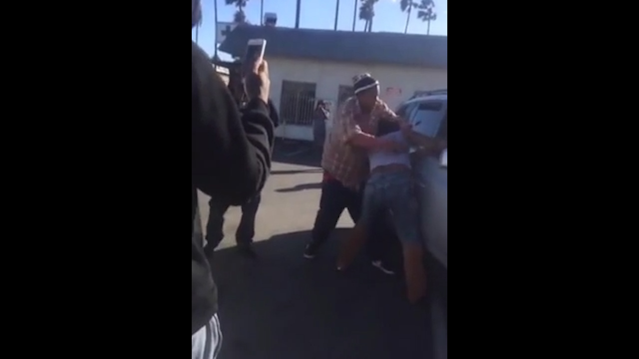 woman goes on epic gta-style rampage after road rage argument with fellow driver