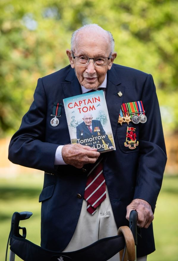 captain sir tom moore dead aged 100 – hero who raised millions for nhs dies in hospital after covid battle
