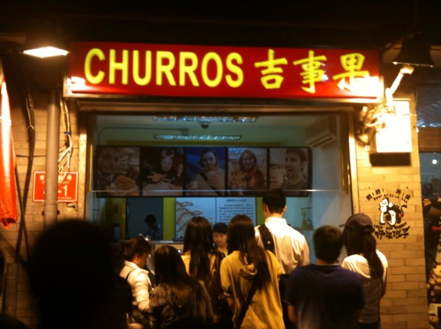 this guy finds out that his face is being used all over china to advertise churros