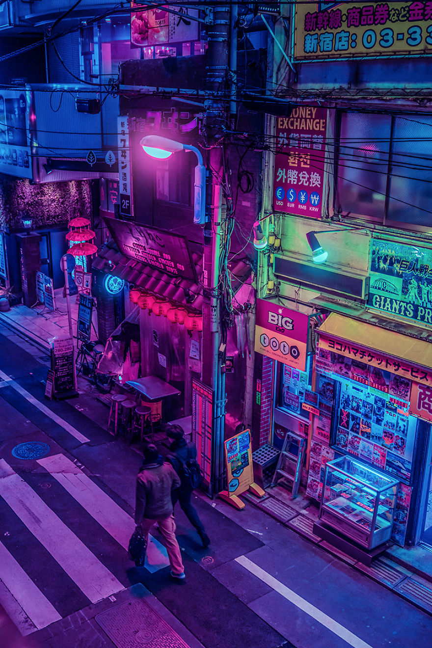 i fulfilled my dream of going to japan and captured the surreal beauty of tokyo at night (part 2)