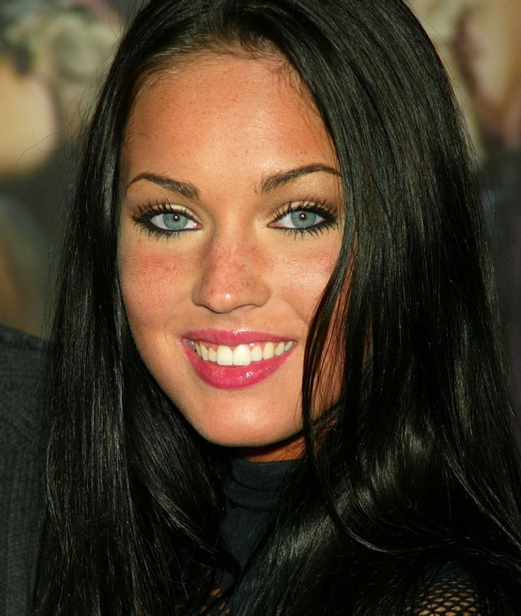 megan fox young: transformations of the brunette beauty
