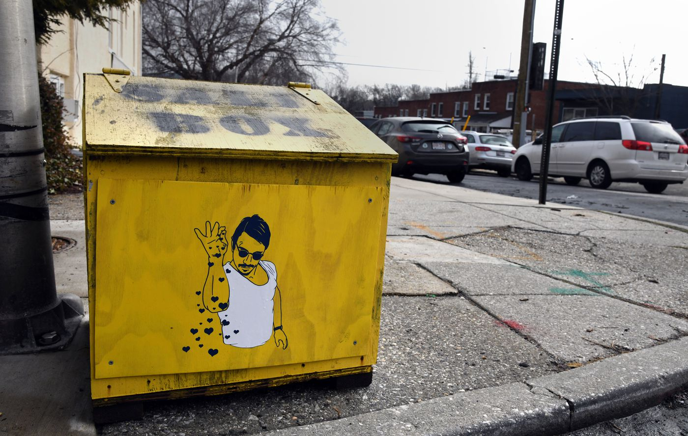 baltimore artists gives salt boxes a makeover — and here are our favorites