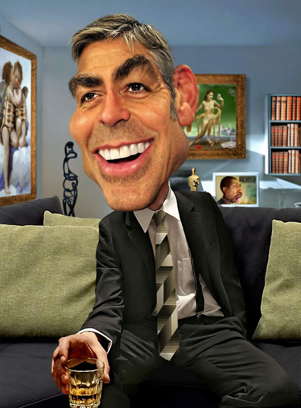 50 superb celebrity caricatures created by rodney pike – with interview