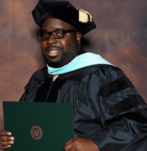 despite all odds men graduated with his doctorate degree in 3.67 gpa