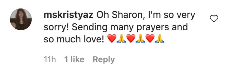 sharon osbourne makes heartbreaking coronavirus announcement