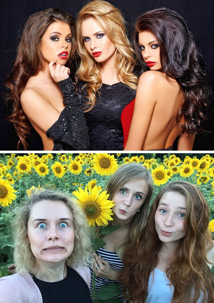 18 photos showing that there are only 2 types of girls in the world