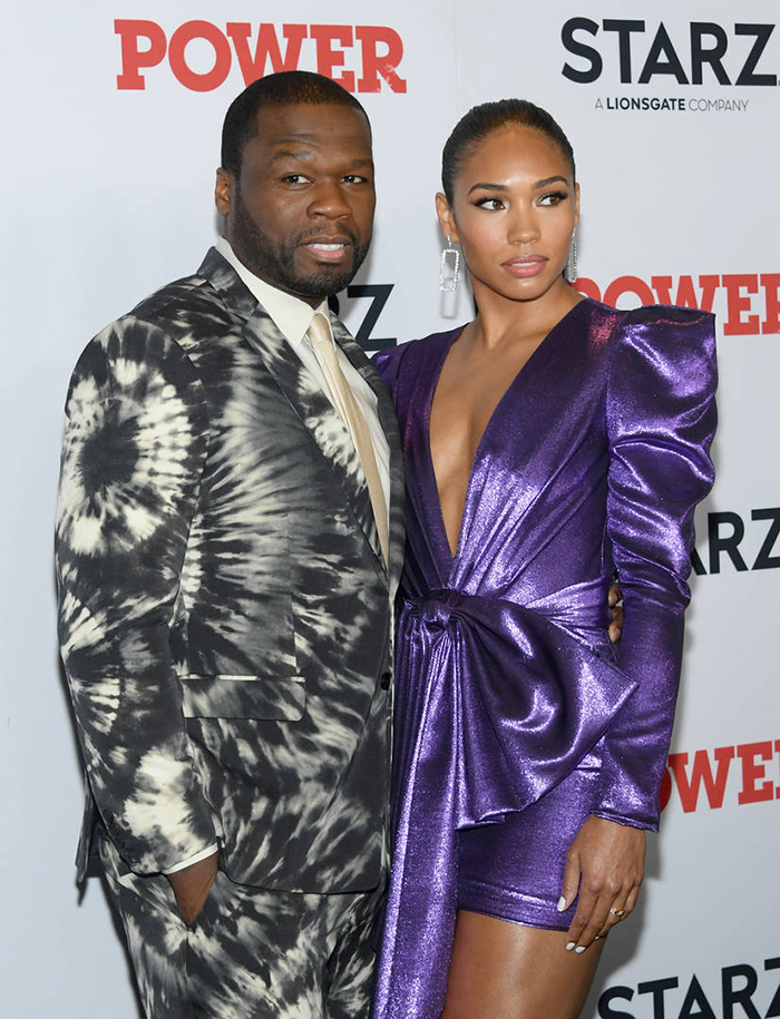 50 cent and his girlfriend respond to vivica fox saying the rapper is the love of her life…again – video