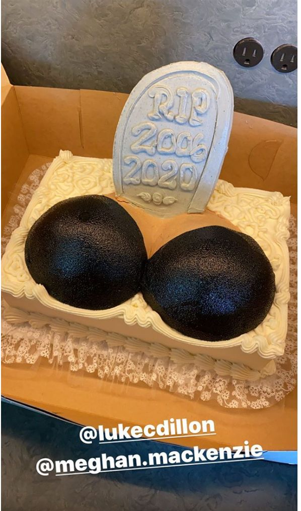 Chrissy Teigen Got A Hilarious Cake After Having Her Breast Implants Removed