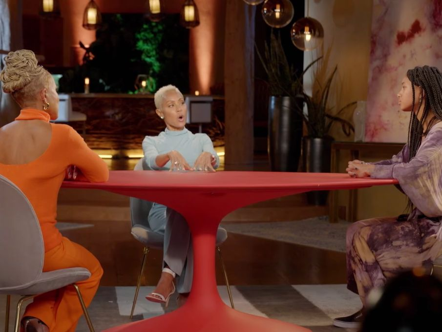 20-year-old willow smith discusses being polyamorous in new 'red table talk' episode