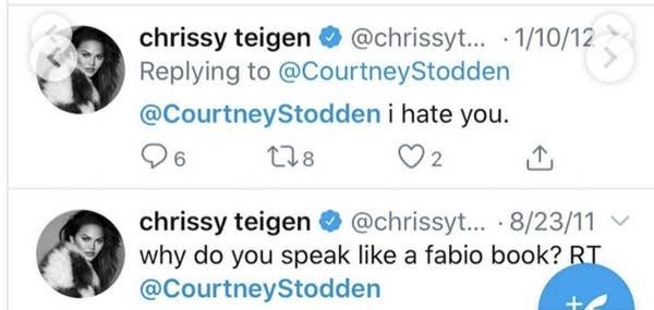 chrissy teigen is being accused of bullying a teenager and telling them to commit suicide