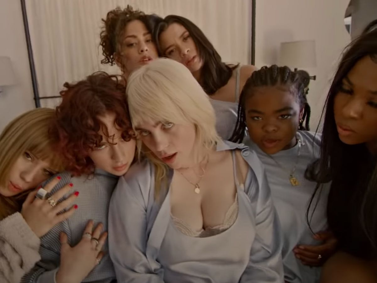 billie eilish officially debuts her new look in latest music video