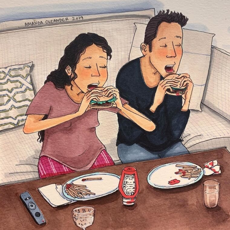 40+ Drawings That Show What Really Happens In Every Relationship