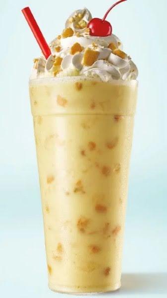 Sonic Has A Limited Edition Banana Pudding Shake Made With Real Bananas And Nilla Wafers