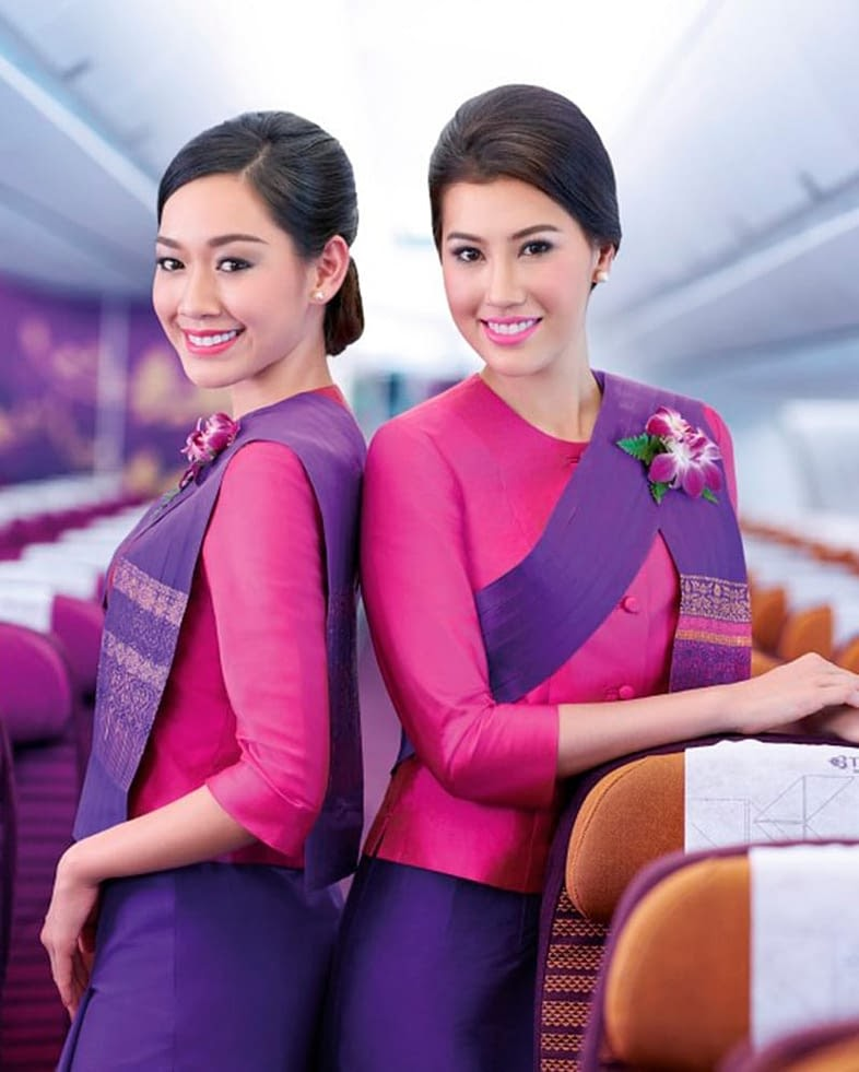 Most Attractive Airlines Stewardess In The World
