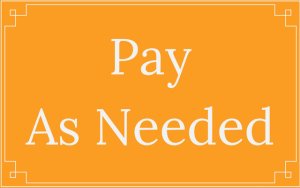 Pay As Needed - Thought Penny