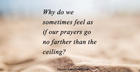 God Helps Us Pray