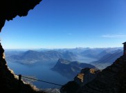 The view from Mt Pilatus