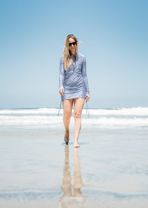 Covered Up with SwimZip | A stylish and practical swimsuit cover up for mama!