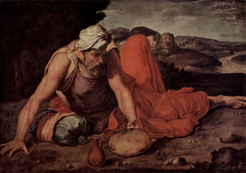 Elijah Flees From Jezebel