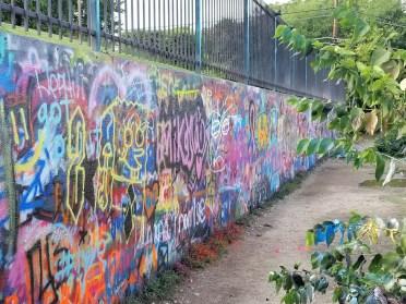 More artwork at Graffiti Park