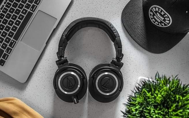 Headphones at work