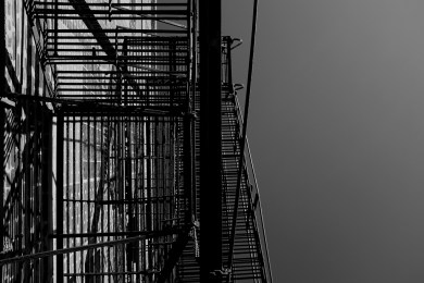 Fire escape, West Loop