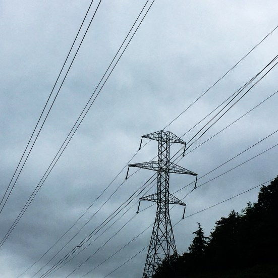 The popping and crackling emanating from the high voltage lines was incredible.
