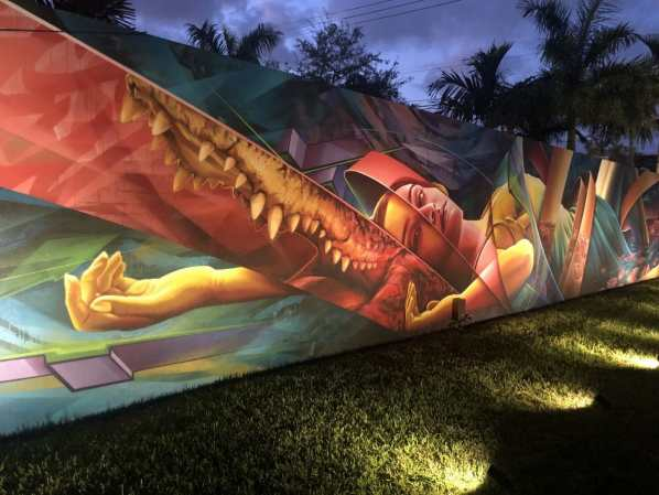 Visting Wynwood Walls in Miami - December 2019 Edition