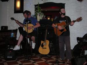 Musicians in Kinsale