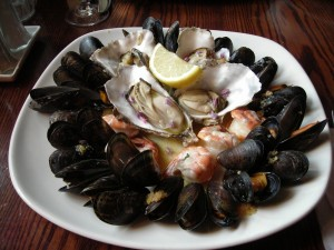 Grace's Seafood Platter