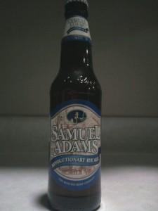 Samuel Adams Revolutionary Rye