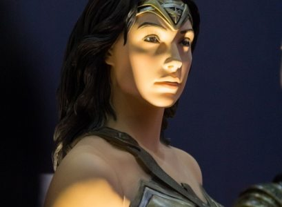 Mannequin of Wonder woman