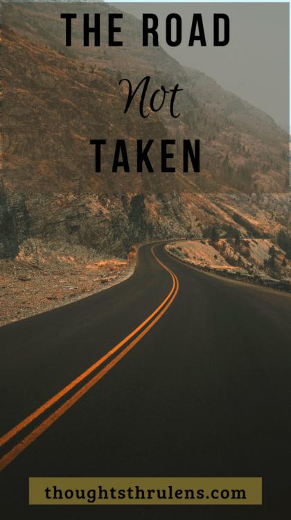 Unexplored, empty road