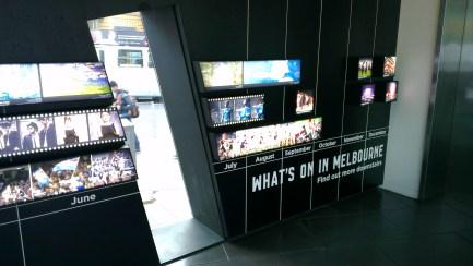 Melbourne Tourism Visitor Booth (inside)