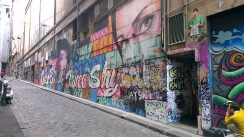 Street Laneway Art