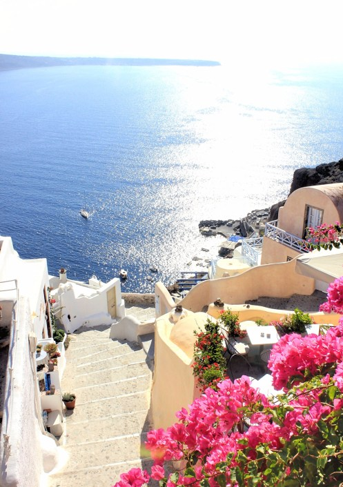 staircases of oia